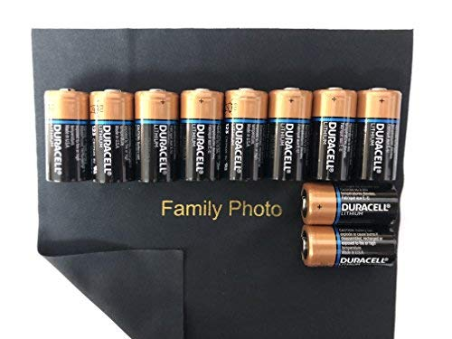 10 Count Duracell Ultra Lithium 3V CR123 Leak Resistant Long Lasting Batteries