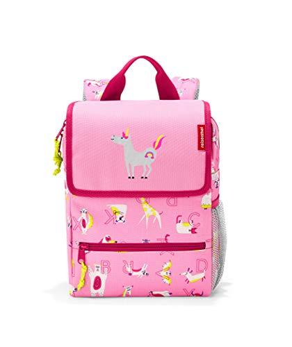 Reisenthel Backpack Kids ABC Friends Pink Mochila Infantil 28 Centimeters 5 Rosa (ABC Friends Pink)