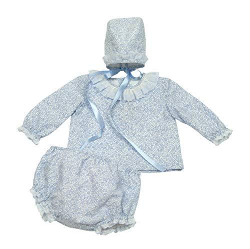 Conjunto Azalea Camisa Cubre-Pañal y Capota (Solo 6 Meses) - Hecho a...