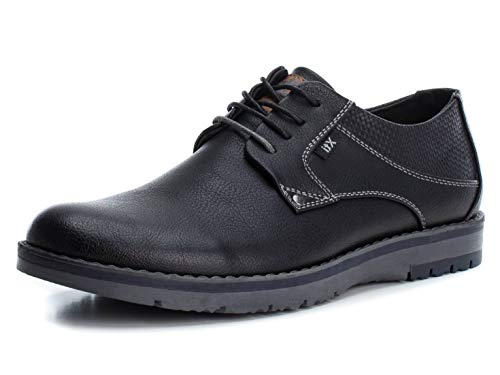 XTI Zapato Oxford BAS034477 para Hombre Negro 45