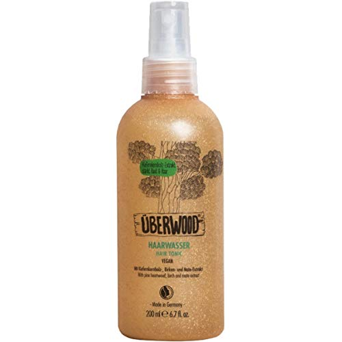 Überwood - Haarwasser für trockene, juckende und zu Schuppen neigende Kopfhaut - 200 ml
