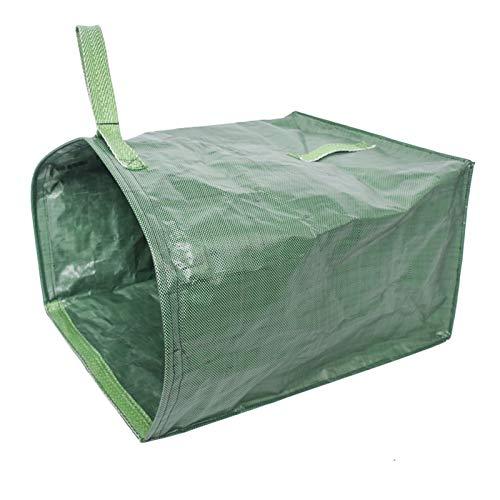 rethyrel Bolsa de basura de hoja con un asa, bolsa de almacenamiento desechable con gran capacidad para césped, piscina, jardín