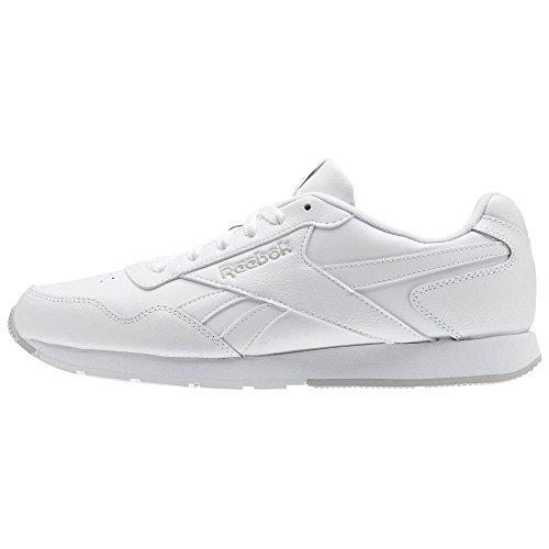 Reebok Royal Glide, Zapatillas de deporte, Hombre, Blanco (White / Steel / Reebok Royal), 42 EU