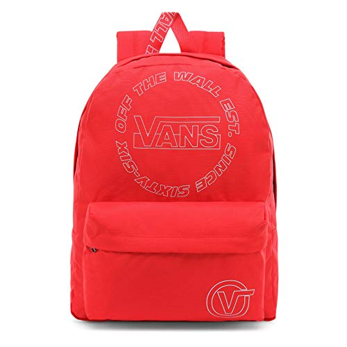 Vans Old Skool Iii Zaino Casual Daypack, OS, Rosso (ibisco). (Rosso) - VN0A3I6R
