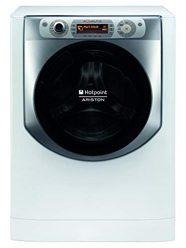 Hotpoint AQ94D497SD EU B N lavatrice a libera installazione, 9 kg, B, 1400 giri min, Bianco