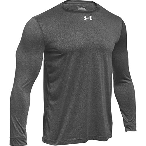 Under Armour Men's UA Locker 2.0 Long Sleeve Shirt (Medium, Silver, Size Medium