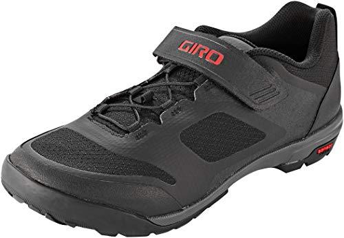 Giro Ventana Fastlace Mens Mountain Cycling Shoe − 44, Black/Dark Shadow (2021)