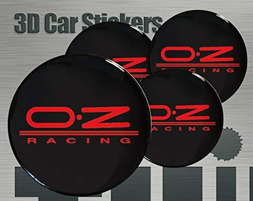 OZ Racing ★4 Stück★ 60mm Aufkleber Emblem für Felgen Nabendeckel Radkappen