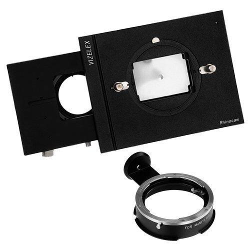Fotodiox Vizelex RhinoCam - Dispositivo de soporte para objetivos fotográficos (para cámaras NEX, adaptador para lentes de Mamiya 645, adaptador para foto stitching de tamaño 645, compatible con la fotografía panorámica)