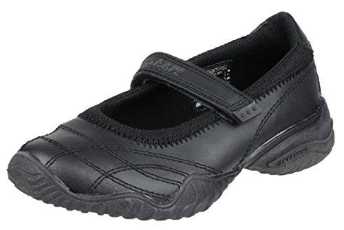 Skechers Girls Velocity Pouty Ballet Flats 81264L Black 3 UK Child, 36 EU