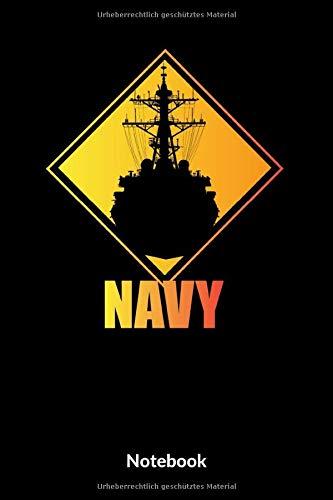 Navy Notebook: A5 Kariertes Notizbuch für Soldaten der Bundeswehr! Als Geschenk zum Jahrestag, Valentinstag, Hochzeitstag oder Weihnachten