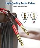 Professional Guitar Cable 3M (10ft), JSAUX 1/4