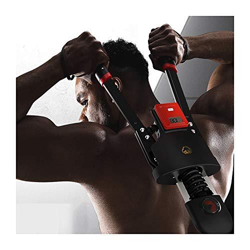 WWZL Máquina de Ejercicios para El Brazo Parte Superior del Cuerpo Ejercicio de Resistencia para Brazo, Bíceps, Abdomen, Hombro y Músculo del Pecho para Regalo de Hombres