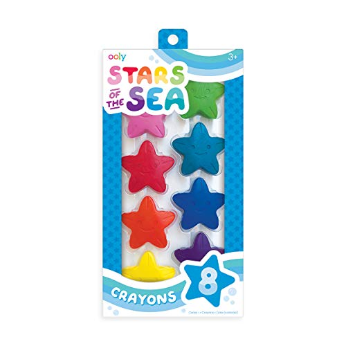 Stars of The Sea Crayons-Set of 8