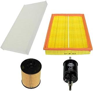 Inspektionspaket Wartungspaket Filterset 1 x Ölfilter mit Dichtung 1 x Luftfilter 1 x Innenraumfilter 1 x Kraftstofffilter