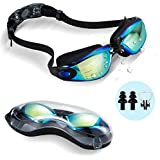 Dsoso Swim Goggles + Swim Cap + Case + Nose...