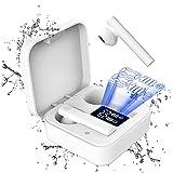 Auriculares Inalambricos Cascos Inalambricos Auriculares Bluetooth 5.1 Auriculares Inalambricos Deportivos con Microfono IPX8 Impermeable, Cascos Bluetooth con CVC8.0 Cancelación de Ruido y 25 Horas