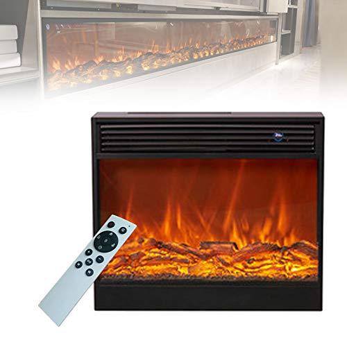 0℃ Outdoor Elektro Kamin Elektrischer mit Heizung Kaminfeuer Effekt Flammeneffekt Heizer Ofen, Realistischer Visueller Effekt, Dekoration und Heizung, Moderne Inneneinrichtung,Top Heating,70x60x18cm