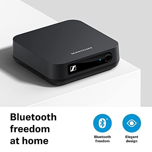Sennheiser BT T100 Bluetooth-Audio-Transmitter für Hi-Fi oder Home Entertainment Schwarz
