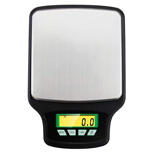Balance de Cuisine Electronique Professionnelle 3 kg/0.1g, Balance numérique de cuisine de Haute Précision Ultra Mince