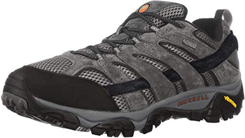 Merrell mens Moab 2 Wtpf Hiking Shoe, Granite, 9.5 Wide US