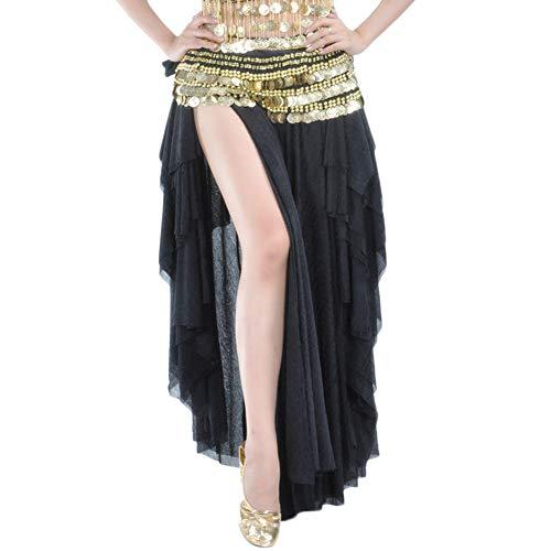 Reefa Ceinture Foulard//Jupe//Robe Costume pour Danse Orientale Danse de lInde Danse du Ventre pour Femme et Fille-Longueur Totale 160cm