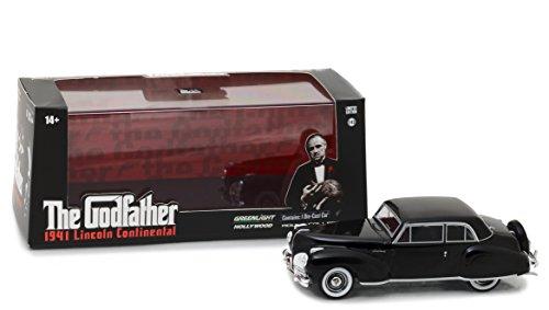 Greenlight 1:43 Il Padrino (1972) - 1941 Lincoln Continental - (86507) Veicolo pressofuso, taglia unica