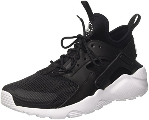 Nike Air Huarache Run Ultra (GS), Zapatillas Unisex Niños, Negro (Black/White 020), 36 EU