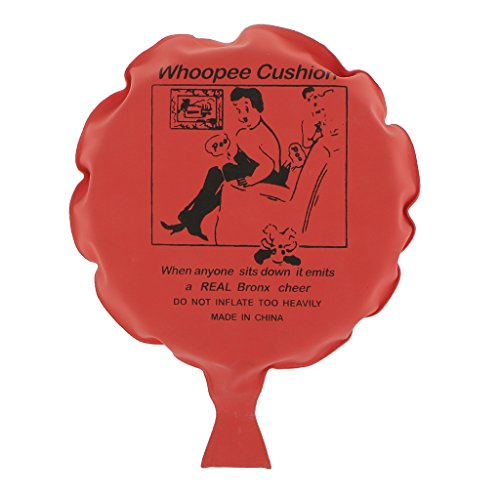 Blesiya Geräuschkissen - Furzkissen - Pupskissen Spielzeug - Rot