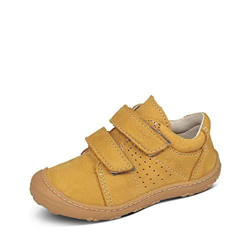 RICOSTA Pepino Tony - Zapatillas deportivas para niños, ancho medio (WMS), plantilla suelta, color Amarillo, talla 20 EU
