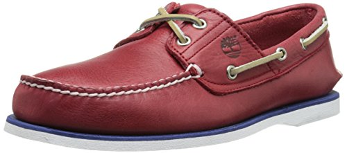 Timberland Men's Timberland Icon Classic 2 Eye Snow Boot, Red, 10 M US