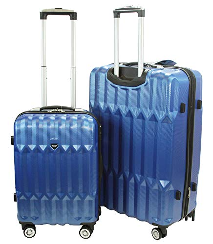 Cheapest Prices! WISDOM HardSide Carry-on 20/28(50lbs) Expandable Suitecase Luggage With Double Sp...