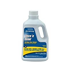 Size: 1 Gallon For routine cleaning of no-wax vinyl, ceramic, marble, granite, terrazzo, slate and stone floors Leaves no dulling/sticky film Economical, concentrate formula