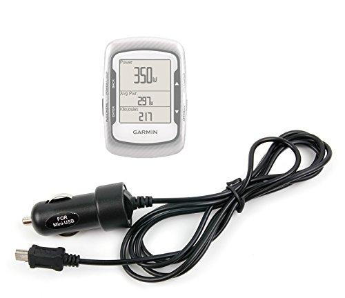 DURAGADGET Chargeur Voiture Mini USB pour GPS Garmin Edge 500, 510 & Edge Touring Plus Compteur de vélo connecté