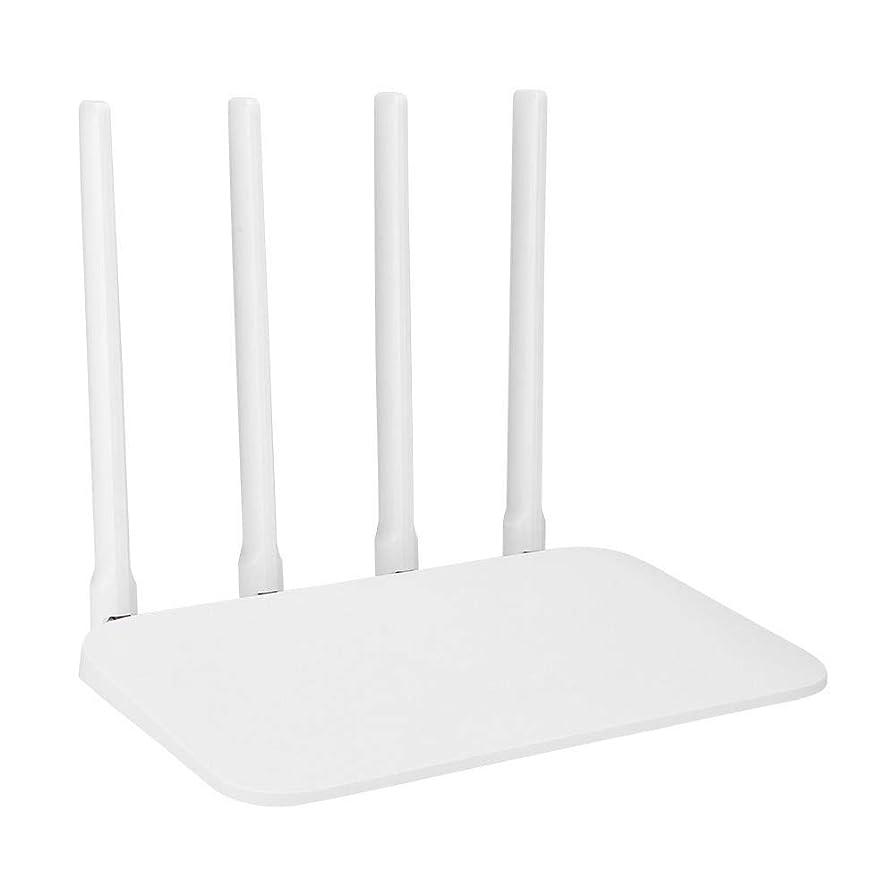 マークダウンリビジョン排出スマートWiFiルーター、128 MB 4AデュアルコアCPUギガビットルーター、1ギガビットWANポートおよび2ギガビットLANポート、家庭用ワイヤレスインターネットルーター(米国のプラグ)