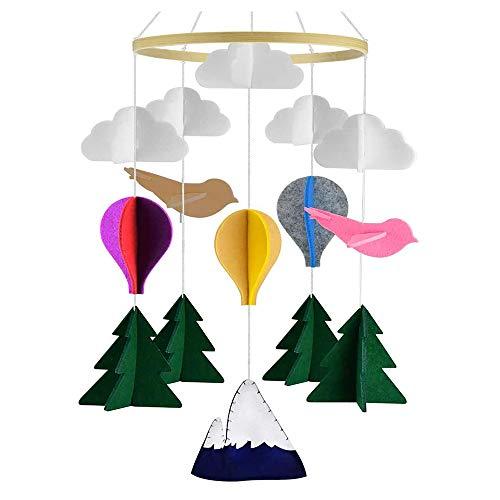 Krippe Mobile für Jungen und Mädchen,baby windspiel junge,Bettglocke,Mobile Krippe,Mobile für Babybett,baby Windspiel (style 2)