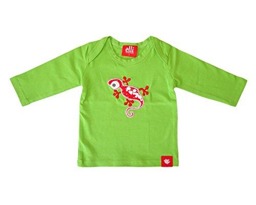 Elli Miracle morceaux bébé fille et à manches longues pour garçon Gecko en belles couleurs vert vert 80