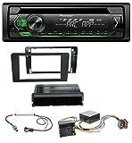 Pioneer DEH-S120UBG USB CD MP3 1DIN AUX Autoradio für Audi A3 8P 06-12 Symphony Infinity Aktivsystem