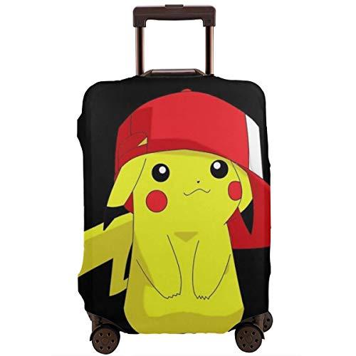 Reisegepäck-Abdeckung, Pikachu mit Hut, Koffer-Schutz, waschbar, 45,7 - 81 cm, weiß (Weiß) - CHLING-33353031-White-31