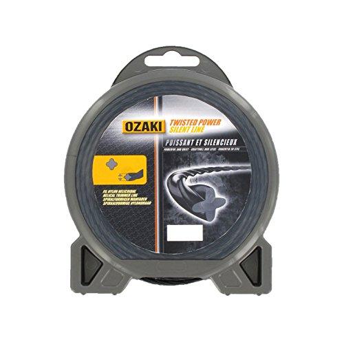 avis fil debroussailleuse professionnel Greenstar3918 Corde hélicoïdale en nylon de qualité supérieure Ozaki ø3,3mmx23 m
