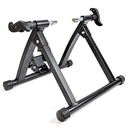 YQTXDS Bicicleta Magnetic Turbo Trainer, Home Trainer, Bike Trainer Stand, Montaña Interior Ajustable y Plegable (Entrenador de Bicicletas)