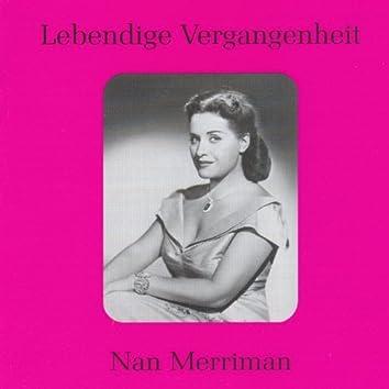 Lebendige Vergangenheit - Nan Merriman