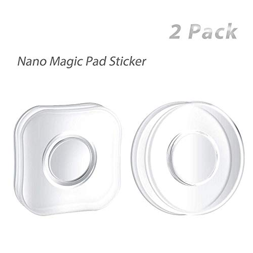 /… Flower Shape Nano Gel Pad Traceless Magic Stickers,Washable Multi-Functional Universal Sticky Car Phone Holder,Application for Car,Office,Home Storage of Various Small Device and Items