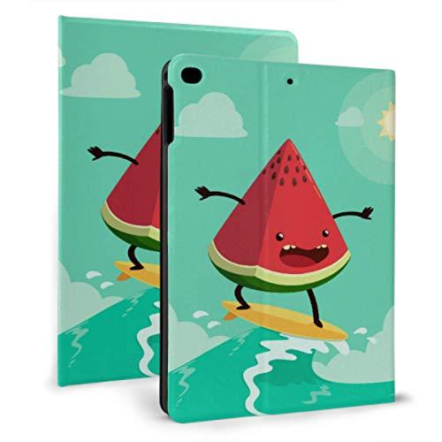 XiexHOME La última Funda para iPad Slices of Red Girl Heart Watermelon Estuche Resistente para iPad para iPad Mini 4 / Mini 5/2018 6th / 2017 5th / Air/Air 2 con Auto Wake/Sleep Magneti