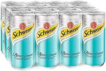 Schweppes Bitter Lemon, 12 x 320ml