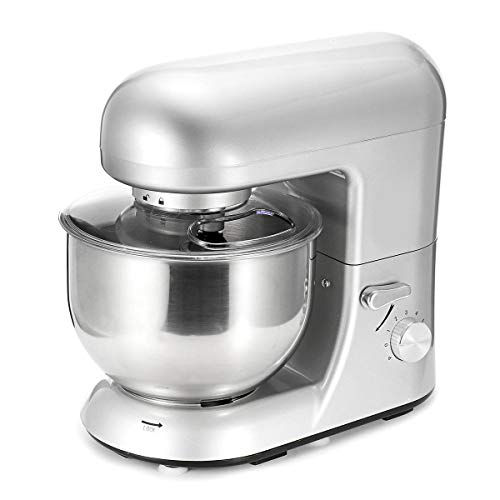 SISHUINIANHUA 1200W Bowl Lift Stand Mixer 5500Ml Blenders Kitchen Stand Food Milkshake/Cake Dough Kneading Processor Machine Maker