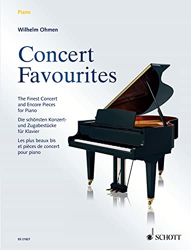 Concert Favourites: The Finest Concert and Encore Pieces (English Edition)