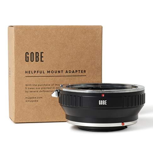 Gobe - Adaptador de Lente Compatible para Lentes Canon EOS (EF/EF-S) y cuerpos de cámara...
