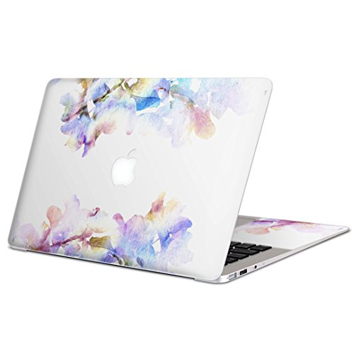 igsticker Skin Decals for MacBook Pro 13 inch 2019/18/17/16(Model A2159/A1989/A1706/A1708) Ultra Thin Premium Protective Body Stickers Skins Universal Cover Flower Flour Color