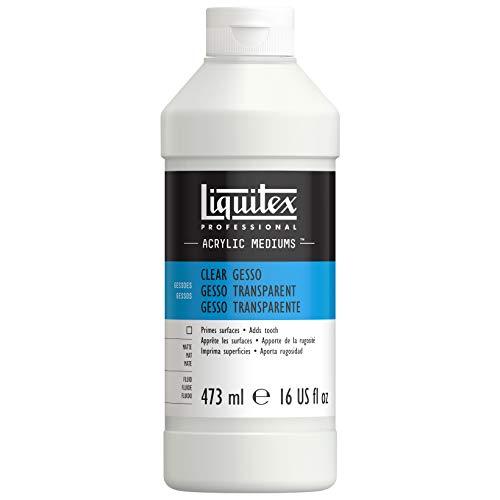 Liquitex Additif Gesso Acrylique Transparent 473ml